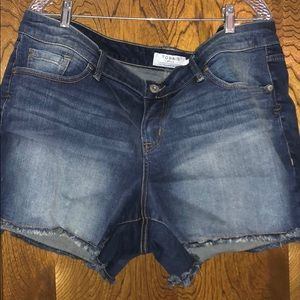 Torrid cut-off shorts